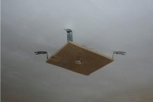 Платформа на потолочных подвесах