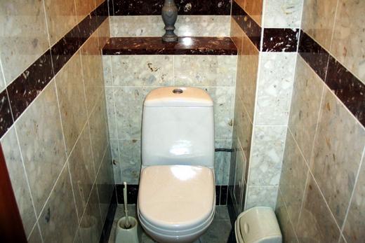 керамогранит в туалете