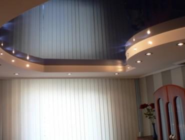 Лаковый натяжной потолок