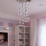 Будуарный стиль оформления маленькой комнаты