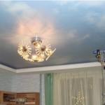 Потолок в детской с изображением небес - для мечтателей и будущих спортсменов