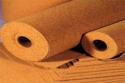 Производятся в плитах и рулонах пробковые подложки