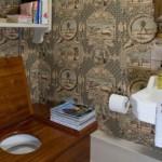 Оформление интерьера в небольшом туалете