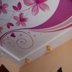 Натяжной потолок для романтичной девочки