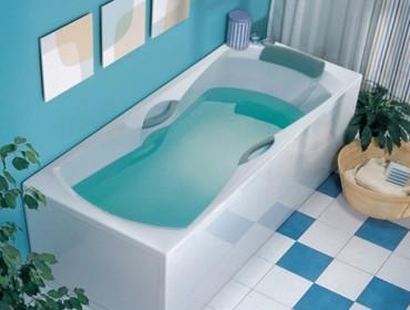 Акриловая ванна Ravak после монтажа