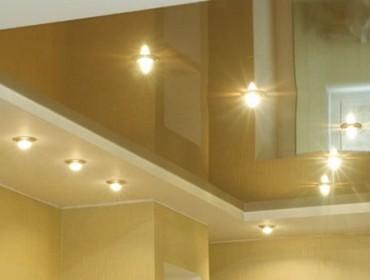 Натяжной потолок с плюсами и минусами