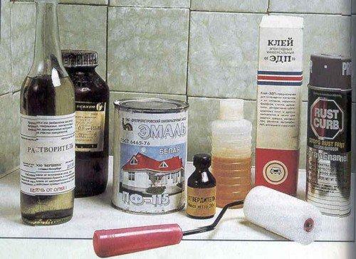 Эмаль для реставрации ванн