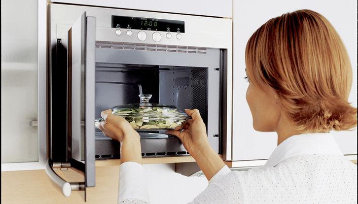 Микроволновка и духовка