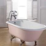 Металлическая эмалированная ванна
