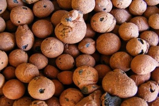 Керамзит - это глиняные обожженные шарики