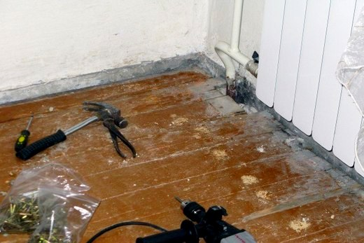В любом случае нужно будет когда-то делать ремонт напольного покрытия
