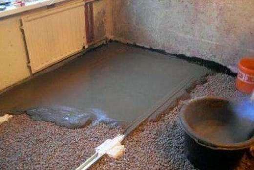 Утепление каркасного напольного покрытия