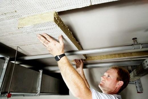 Теплоизоляционным материалом обшивка потолка в подвале