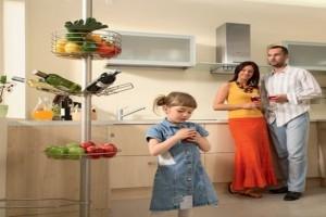 Эксклюзивный рейлинг на кухне