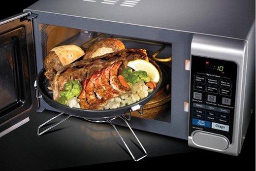 Комбинированная духовка с микроволновой печью