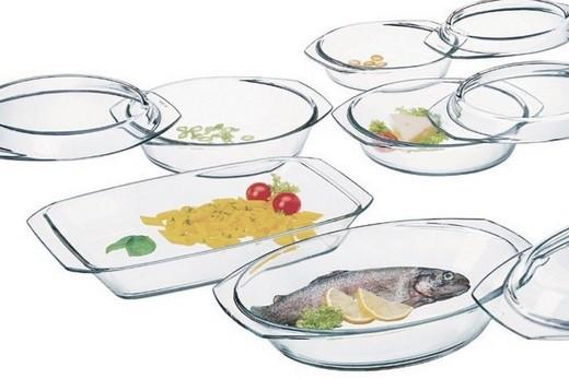 Посуда для духовки, которая совмещена с свч-печью