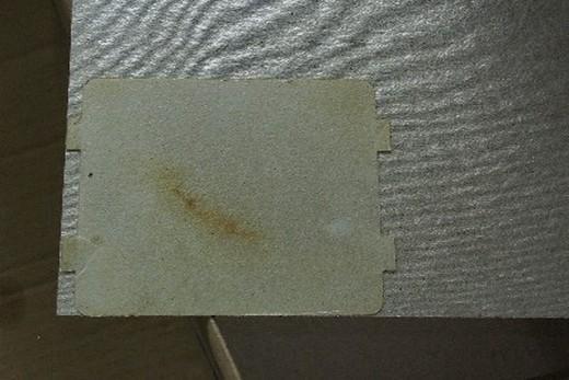 Крышкой волновода в свч-печи является слюдяная пластина