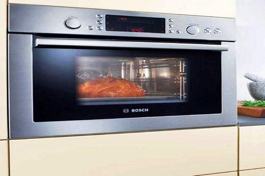 Свч-печь с функцией духовки бренда Bosch