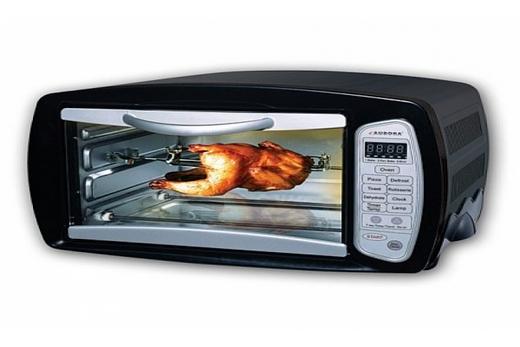 Микроволновая печь с грилем кварцевого типа