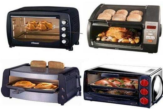 Компактные духовки с микроволновой печью и грилем
