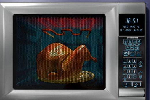 Свч-печь вместо духовки с тэновым грилем
