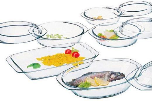 Оптимальный вариант для приготовления еды в микроволновке - стеклянная посуда