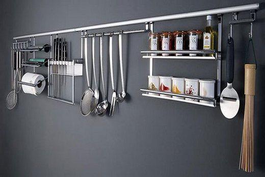 Кухонные рейлинги из стали
