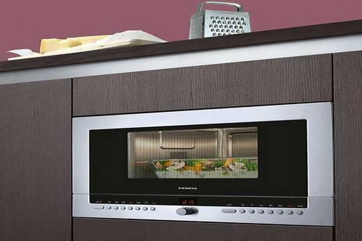 Комбинированная духовка с свч-печью бренда Siemens