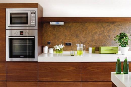 Пенал с духовкой и микроволновой печью