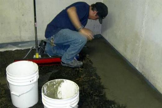 Делаем цементную гидроизоляцию пола