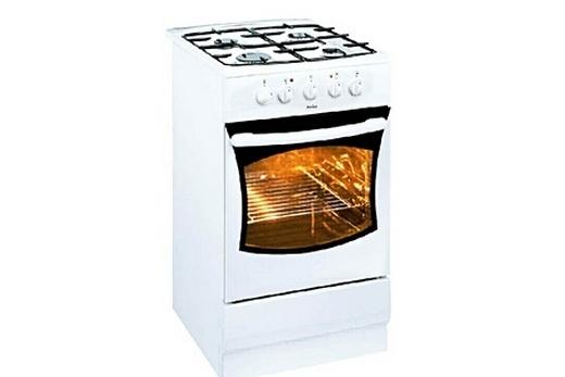 Плита - газовая, духовка - электрическая
