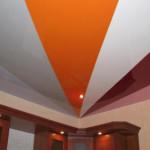 Потолок, комбинированный из натяжного и гипсокартонного