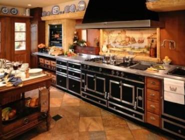 Встроенная кухонная плита
