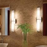 Люминисцентные лампы в интерьере ванной