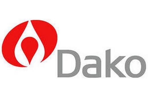 Логотип кухонных плит Dako