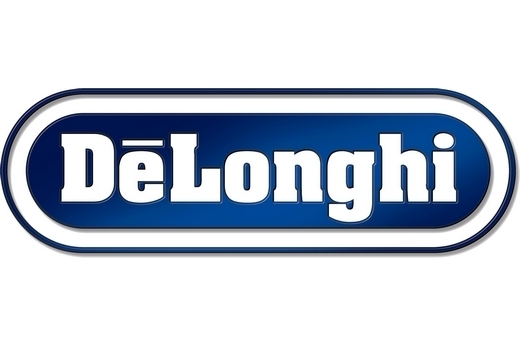 Логотип плит Delonghi