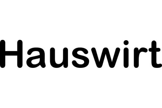 Логотип плит Hauswirt