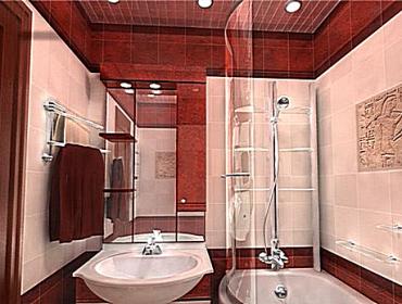 Испорльзование потолка для освещения ванной