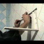 Установка кронштейна под СВЧ-печь