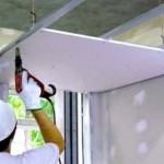 Устройство многоуровневого потолка из гипсокартона