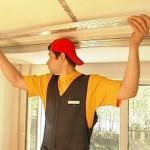 Установка подвесного потолка из гипсокартона