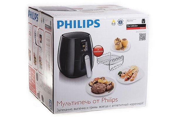 Philips HD 9235/20 в упаковке