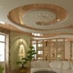 Плёночный натяжной потолок