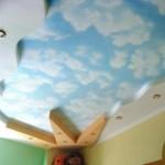 Детская комната с натяжным потолком
