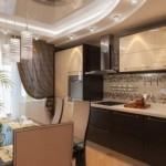 Натяжной потолок в зале, гостиной, идеи для дизайна