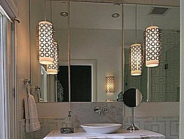 Осветительные приборы в ванной комнате