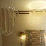 Светильники в ванной комнате