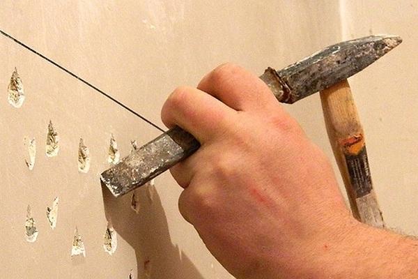 Подготовка поверхности к штукатурным работам