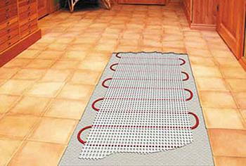 Подготовка теплого электрического пола к укладке плитки