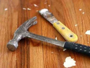 Инструменты для ремонта деревянного пола